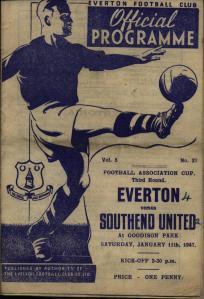 Everton (a) 46-47