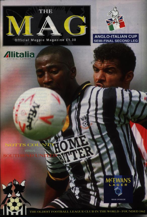 Notts Co 15-02-94