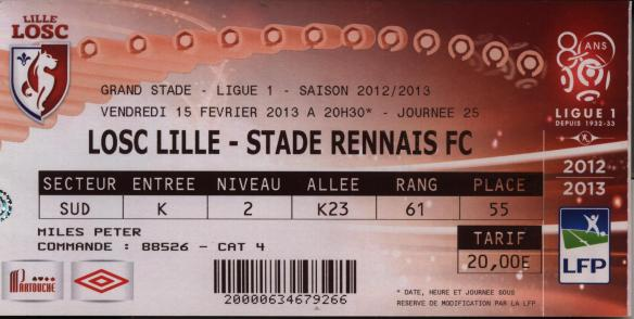lille ticket
