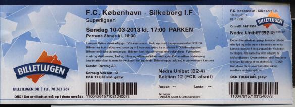 Kobenhavn ticket