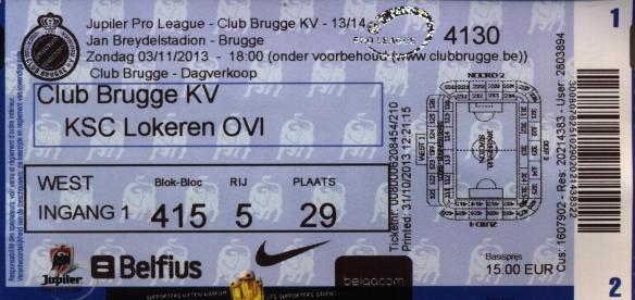 Brugge ticket
