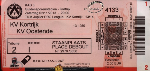 Kortrijk ticket