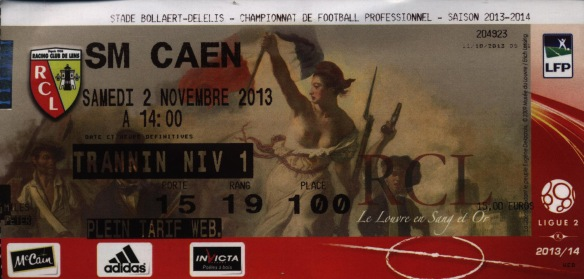 Lens ticket