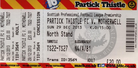 partick ticket