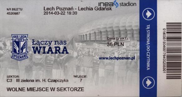 Lech ticket