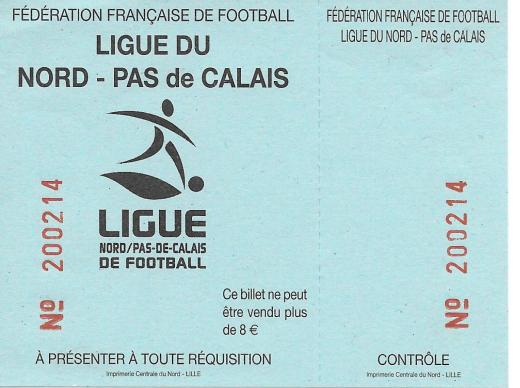 Tourcoing ticket