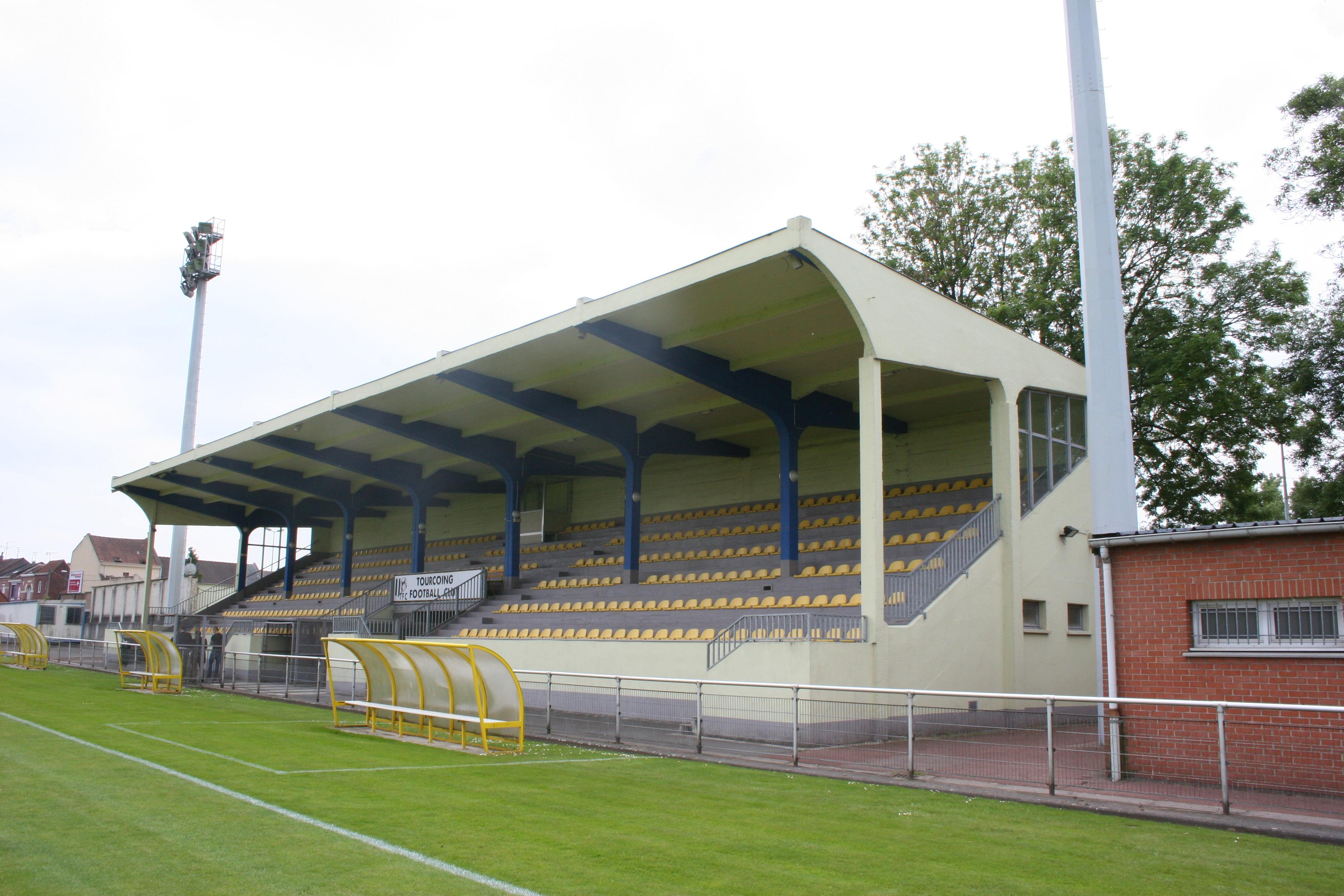 Stade Van de Veegaete | The Itinerant Football Watcher