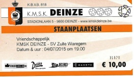 Deinze ticket