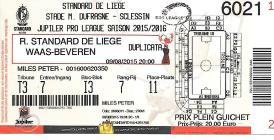 Standard ticket