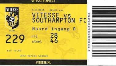 Vitesse ticket