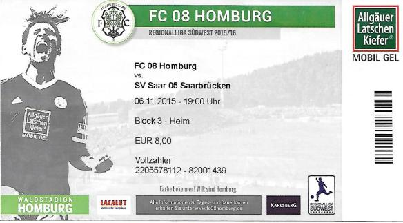Homburg ticket