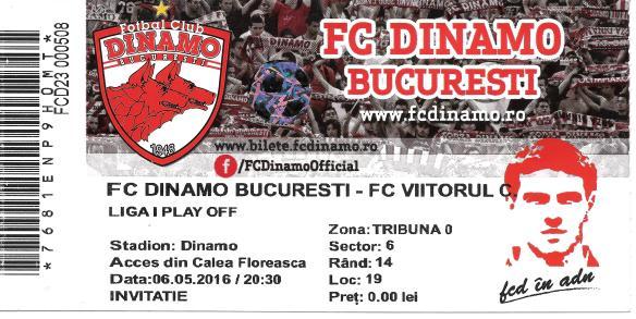 Dinamo ticket