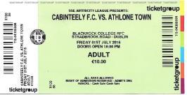 Cabinteely ticket