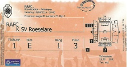 Antwerp ticket