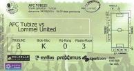 Tubize ticket