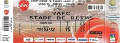 Valenciennes ticket