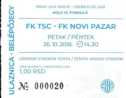 TSC ticket