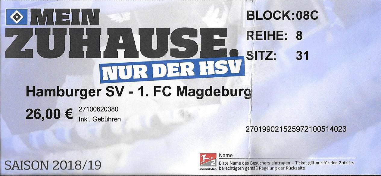 HSV Ticket