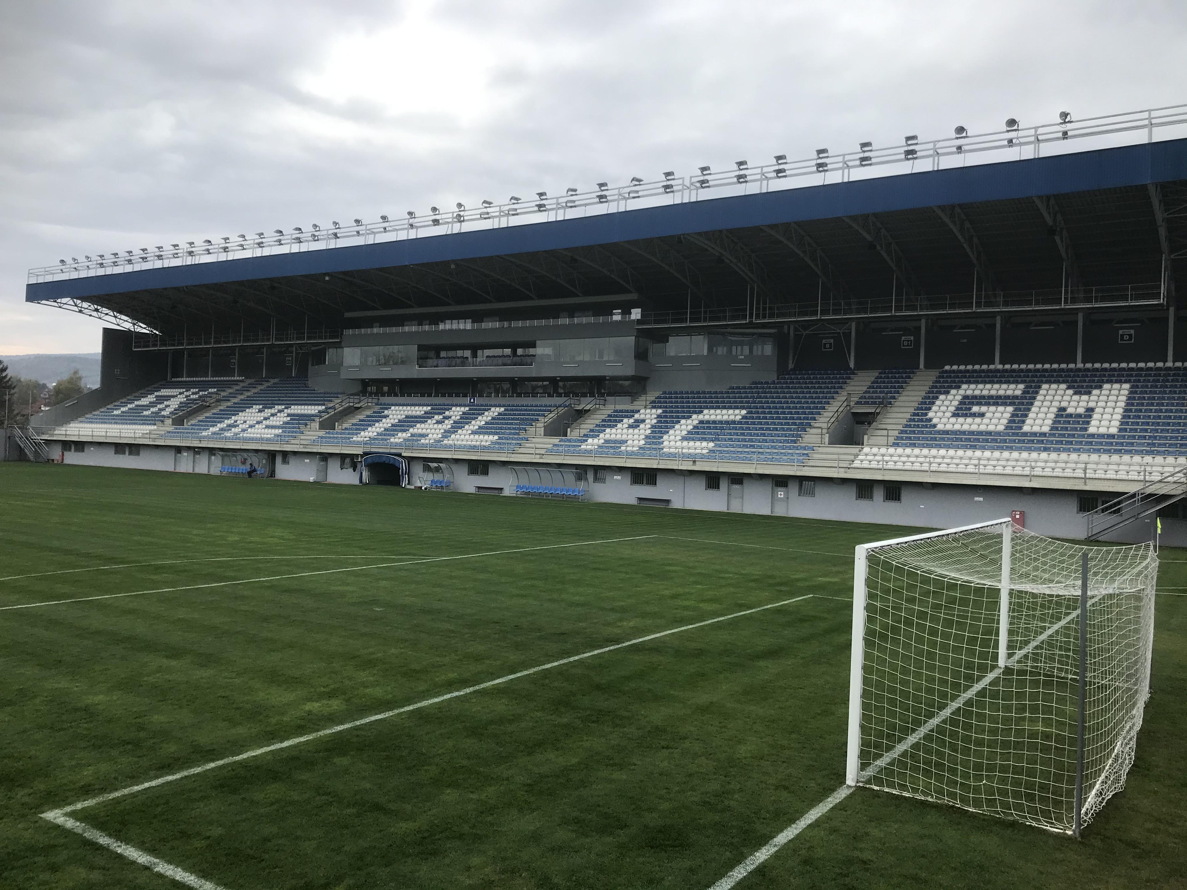 Main Stand at Metalac