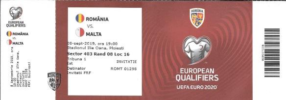 Malta ticket